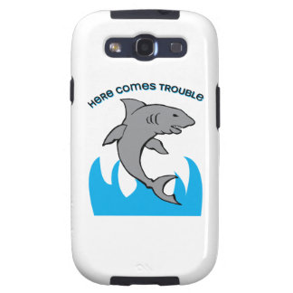 Here Comes Trouble Samsung Galaxy SIII Covers