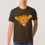 Here comes Trouble (cute cartoon Lion) T-shirt
