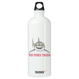 HERE COMES TROUBLE SIGG TRAVELER 1.0L WATER BOTTLE