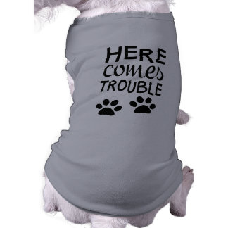 Here Comes Trouble Tank Top