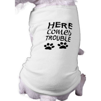 Here Comes Trouble Tee