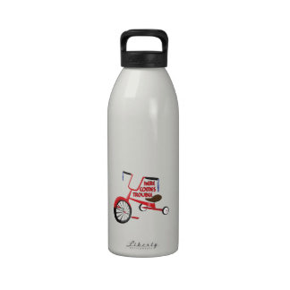 Here Comes Trouble Water Bottles