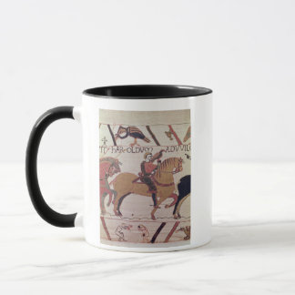Here Count Guy leads Earl Harold  to William Mug