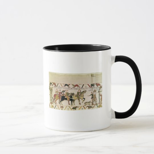 Here Duke William goes with Harold to his Mug