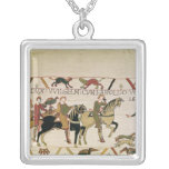 Here Duke William goes with Harold to his Square Pendant Necklace