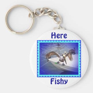 Here Fishy, Fishy... Keychain