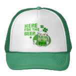 Here For The Beer Mesh Hat