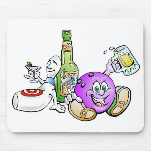Here for the Beer! Mouse Pads