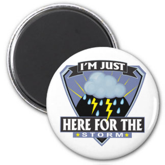 Here for the Storm 2 Inch Round Magnet