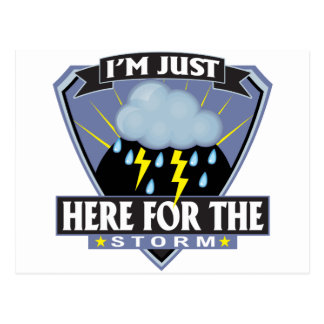 Here for the Storm Postcard