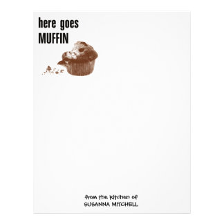 Here Goes Muffin Letterhead