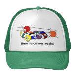 Here He Comes caps Trucker Hats
