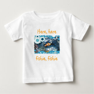 Here here fishie fishie Infant Shirt