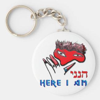 Here I am Keychain