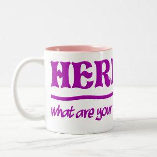 Here I Am mug - choose style & color