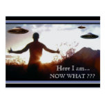 Here I Am, NOW WHAT? - Postcard