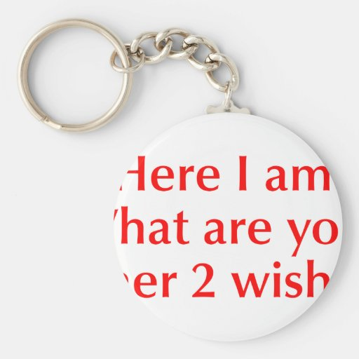 here-I-am-opt-red.png Key Chains
