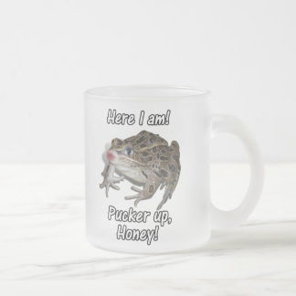 Here I am! Pucker Up, Honey! Coffee Mugs