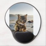 "&quot;Here I am&quot; says the Cat Gel Mouse Pad<br><div class=""desc"">Enjoy this cat on your product just saying &quot;Here I  am&quot;.</div>"