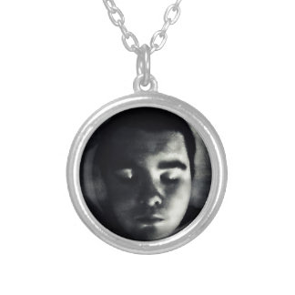 HERE I AM SILVER PLATED NECKLACE