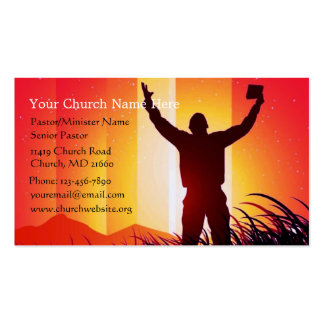 Here I Am to Worship Business/Ministry Card Business Card