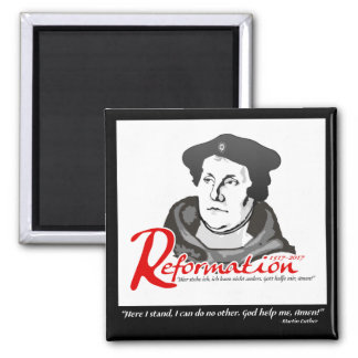 Here I Stand Martin Luther Reformation 500 Magnet