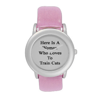 Here Is A Woman Who Loves To Train Cats Watch