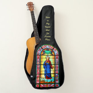 Here is my Heart. . (can change text) or Electric Guitar Case
