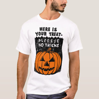 """""""Here Is Your Treat"""" Vintage Halloween Shirt"""