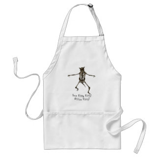 Here Kitty Kitty Adult Apron
