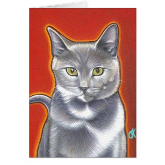 Here Kitty Kitty! Card