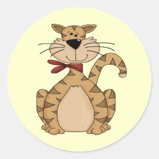 Here Kitty Kitty Classic Round Sticker