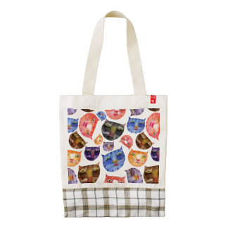 Here Kitty Kitty Custom Zazzle Heart Tote