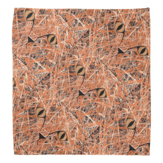 HERE, KITTY, KITTY, KITTY (abstract art design) ~ Bandana