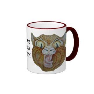 Here Kitty Kitty! Scarey Mug