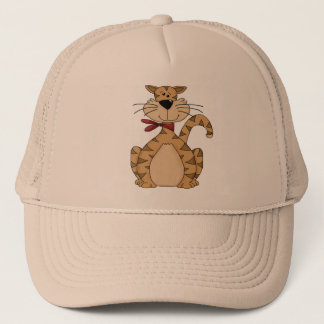 Here Kitty Kitty Trucker Hat