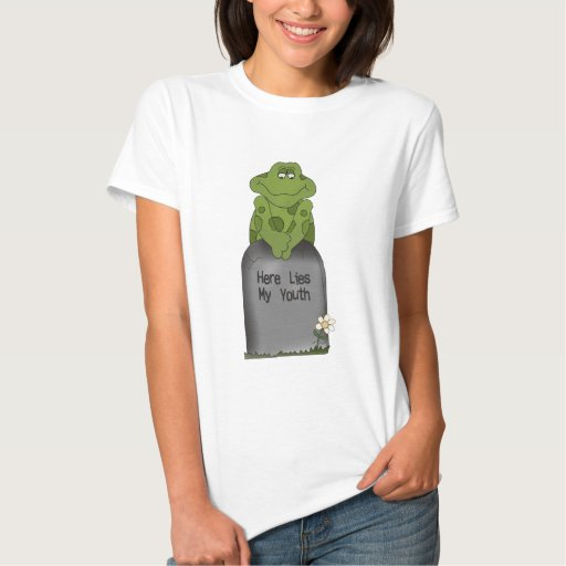 Here Lies My Youth T Shirt