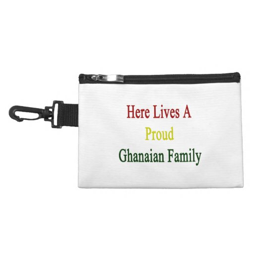 Here Lives A Proud Ghanaian Family Accessories Bags