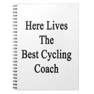 Here Lives The Best Cycling Coach Notebook