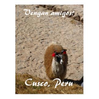 Here llama llama postcard