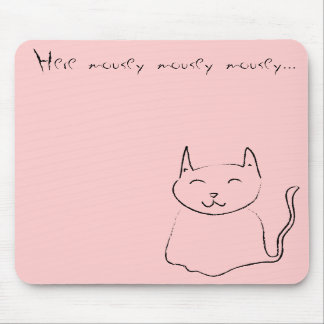 Here Mousey MP Mousepad