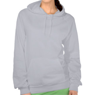 HERE'S LOOKING AT YOU Steam Punk Woman & Binocular Hooded Pullover