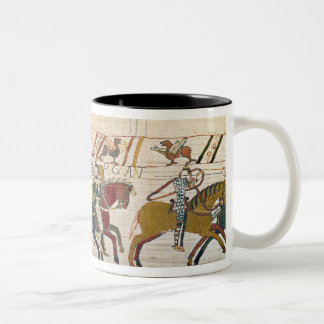Here the French are fighting Two-Tone Coffee Mug