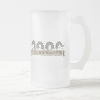 Here There Be Monsters Mug