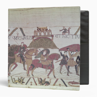 Here they cross the River Couesnon 3 Ring Binder