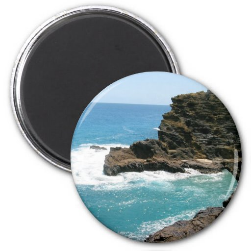 Here to Eternity Beach Refrigerator Magnet