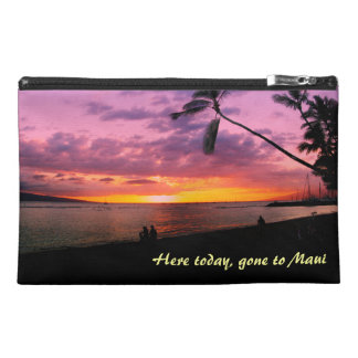Here today, gone to Maui Travel Accessory Bag