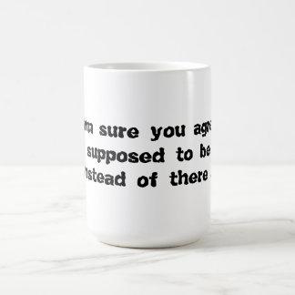 Here vs. There Mug