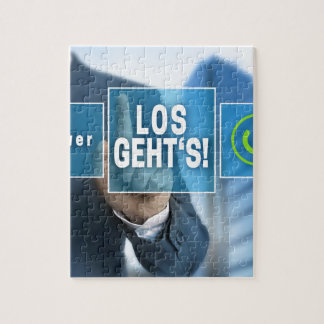 Here we go (german los gehts) touchscreen concept jigsaw puzzle