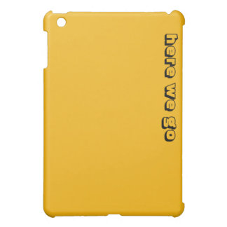 Here We Go ipad Case
